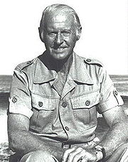 Portrait of Thor Heyerdahl (click to view image source)