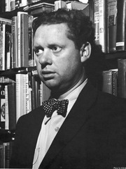 Portrait of Dylan Thomas  (click to view image source)
