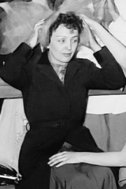 Portrait of Édith Piaf (click to view image source)