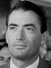 Portrait of Gregory Peck (click to view image source)