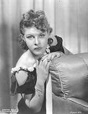 Portrait of Martha Raye  (click to view image source)
