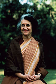 Portrait of Indira Gandhi (click to view image source)