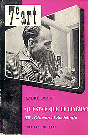 Portrait of André Bazin  (click to view image source)