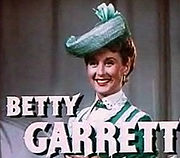 Portrait of Betty Garrett (click to view image source)
