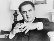 Portrait of Federico Fellini (click to view image source)
