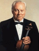 Portrait of Isaac Stern (click to view image source)