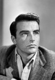 Portrait of Montgomery Clift (click to view image source)