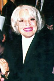Portrait of Carol Channing (click to view image source)