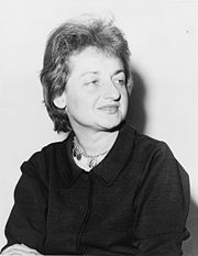 Portrait of Betty Friedan (click to view image source)