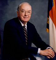 Portrait of Jesse Helms (click to view image source)