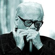 Portrait of Toots Thielemans (click to view image source)