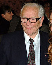 Portrait of Pierre Cardin (click to view image source)