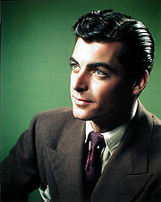 Portrait of Rory Calhoun (click to view image source)