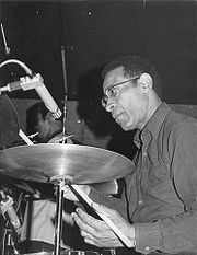 Portrait of Max Roach (click to view image source)