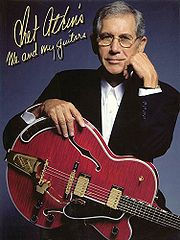 Portrait of Chet Atkins (click to view image source)