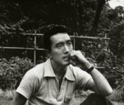 Portrait of Yukio Mishima (click to view image source)