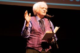 Portrait of Robert Bly (click to view image source)