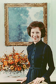 Portrait of Rosalynn Carter (click to view image source)