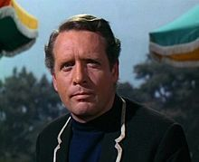 Portrait of Patrick McGoohan (click to view image source)