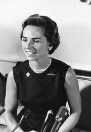 Portrait of Ethel Kennedy (click to view image source)