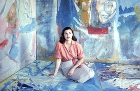 Portrait of Helen Frankenthaler (click to view image source)