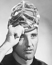 Portrait of Jacques Plante (click to view image source)