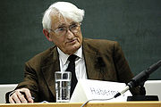 Portrait of Jürgen Habermas (click to view image source)