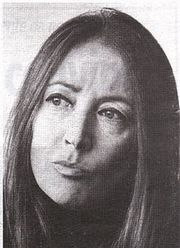 Portrait of Oriana Fallaci  (click to view image source)