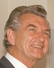 Portrait of Bob Hawke (click to view image source)