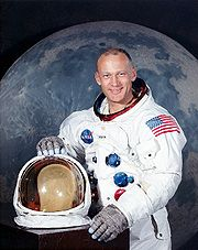 Portrait of Buzz Aldrin (click to view image source)