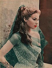 Portrait of Silvana Mangano (click to view image source)