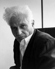 Portrait of Jacques Derrida  (click to view image source)