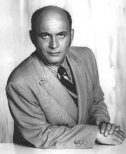 Portrait of Gavin MacLeod (click to view image source)