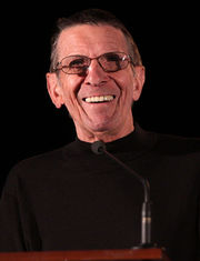 Portrait of Leonard Nimoy (click to view image source)