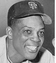 Portrait of Willie Mays (click to view image source)