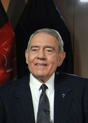 Portrait of Dan Rather (click to view image source)