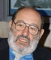 Portrait of Umberto Eco (click to view image source)