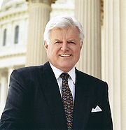 Portrait of Ted Kennedy (click to view image source)