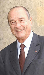 Portrait of Jacques Chirac (click to view image source)