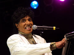 Portrait of Little Richard (click to view image source)