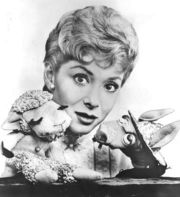 Portrait of Shari Lewis (click to view image source)