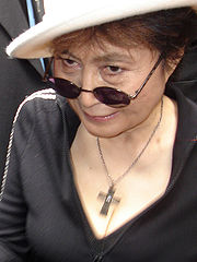 Portrait of Yoko Ono (click to view image source)