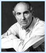 Portrait of Philip Roth (click to view image source)