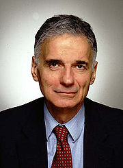 Portrait of Ralph Nader (click to view image source)