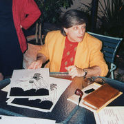 Portrait of Harlan Ellison (click to view image source)