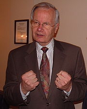 Portrait of Bill Moyers (click to view image source)