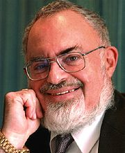 Portrait of Stanton Friedman (click to view image source)