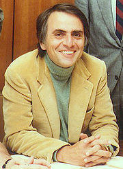 Portrait of Carl Sagan (click to view image source)