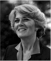Portrait of Geraldine Ferraro (click to view image source)