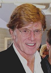 Portrait of Robert Redford (click to view image source)